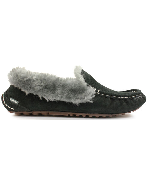 Lamo Footwear Women's Aussie Mocs, Black, hi-res