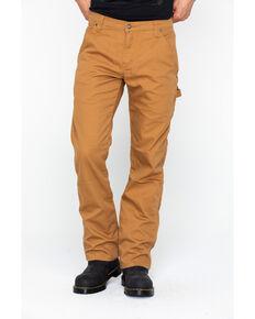 Dickies Men's FLEX Tough Max Duck Carpenter Pants, Brown, hi-res