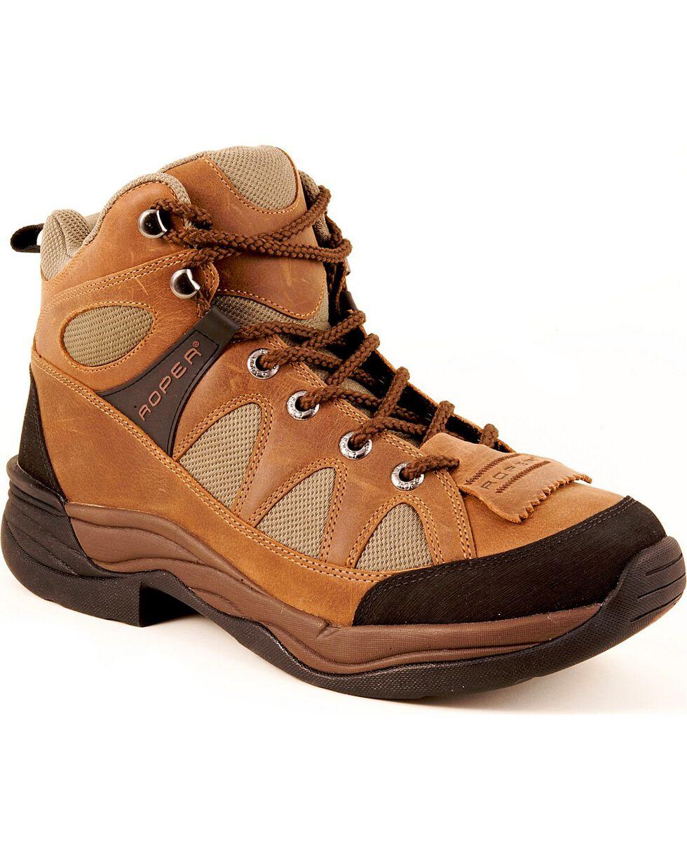 Roper Men's H3 HorseShoe Boots , , hi-res