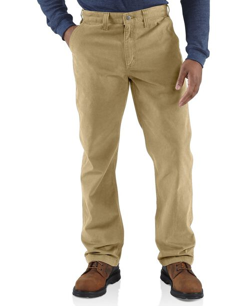 Carhartt Rugged Khaki Work Pants, Khaki, hi-res