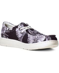 Ariat Men's Hilo Tropical Casual Shoes - Moc Toe, Black, hi-res