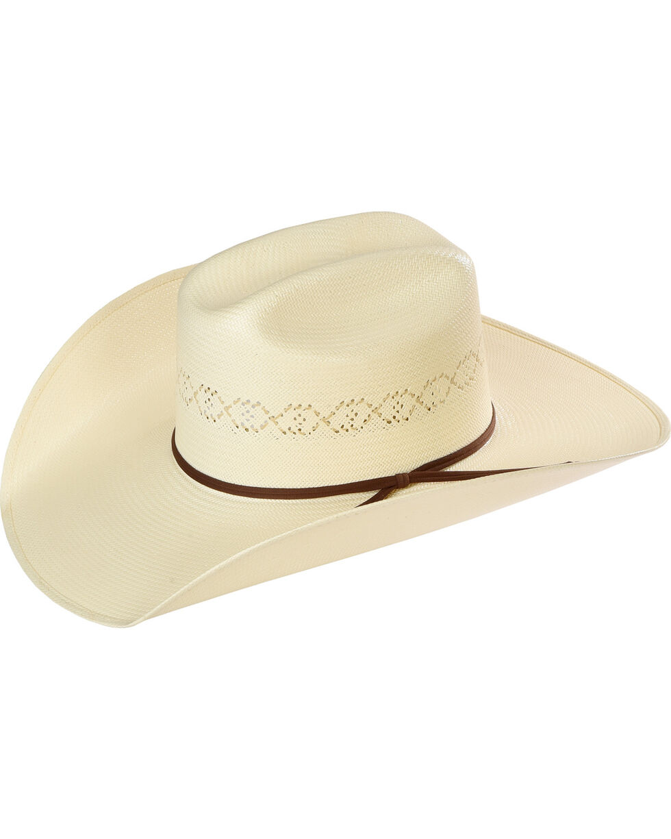 Resistol Men's Cade Promo Straw Hat , Tan, hi-res