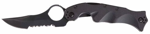 5.11 Tactical Double Duty Karambit Blade Knife, Black, hi-res