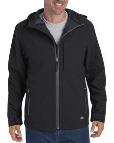 Dickies Men's Waterproof Breathable Hooded Jacket, Black, hi-res