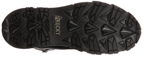 Rocky Broadhead Waterproof Side-Zip Duty Boots - Round Toe, Black, hi-res
