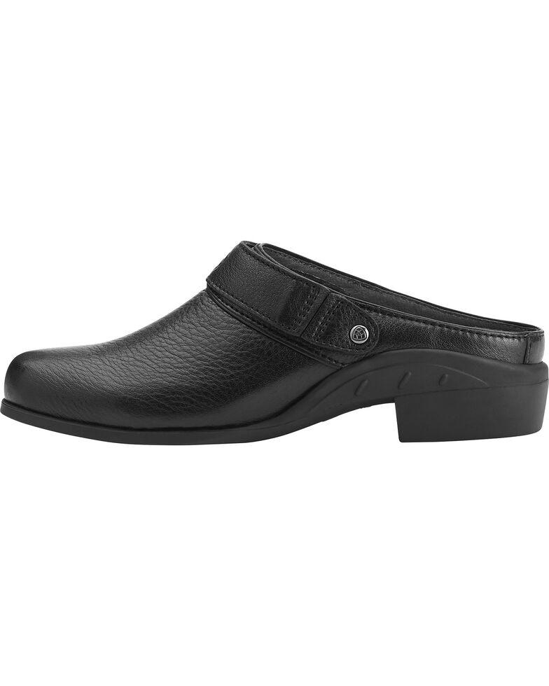 Ariat Women's Sport Leather Mules, Black, hi-res
