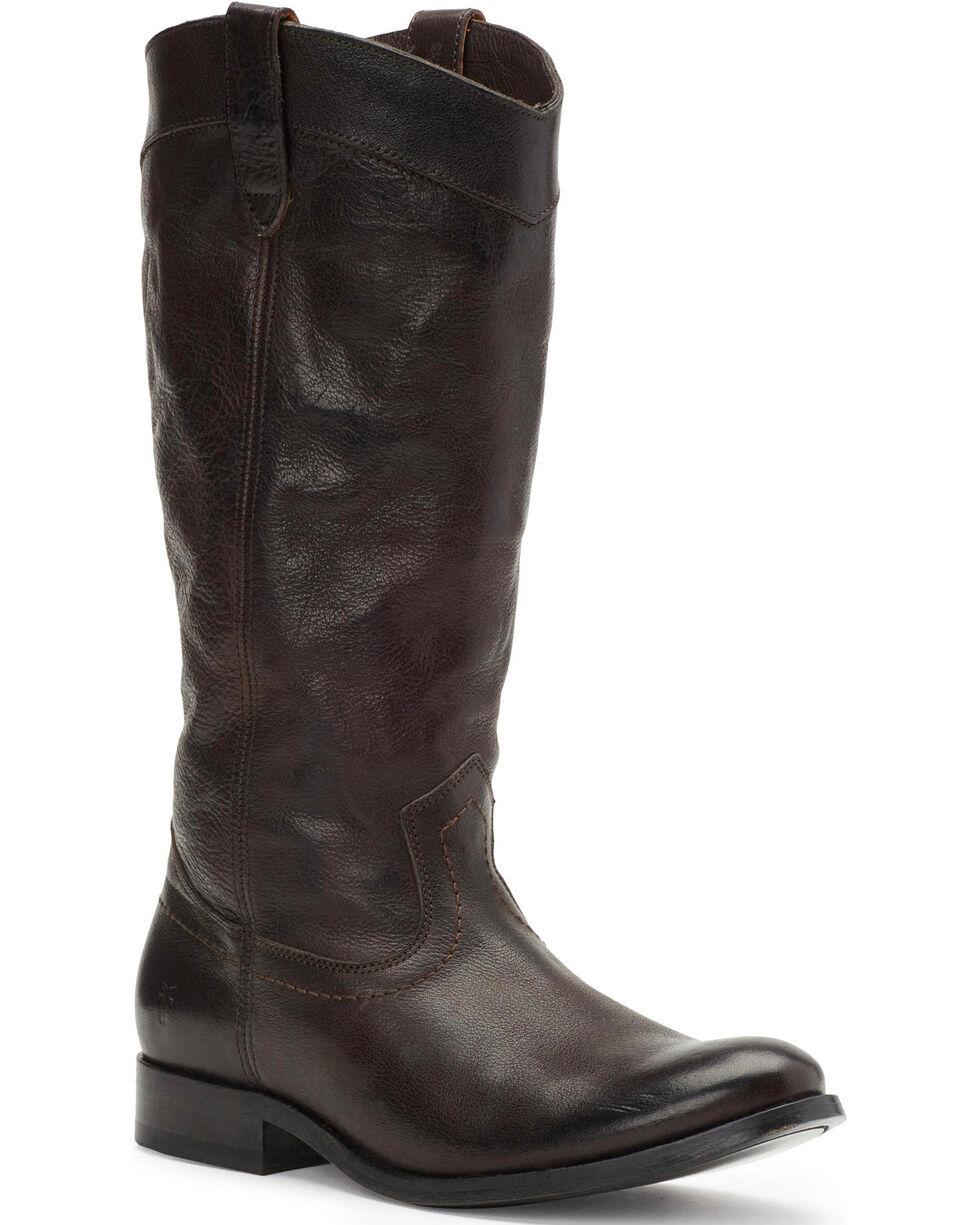 Frye Women's Smoke Melissa Pull On Boots - Round Toe, Grey, hi-res