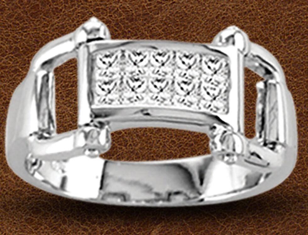Kelly Herd Sterling Silver Bit Ring , Silver, hi-res