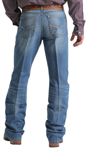 Cinch Men's Indigo Grant Mid-Rise Jeans - Boot Cut, Indigo, hi-res