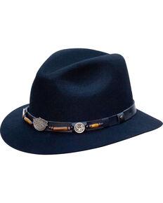 Jack Daniels Men's Structured Wool Hat  , Black, hi-res