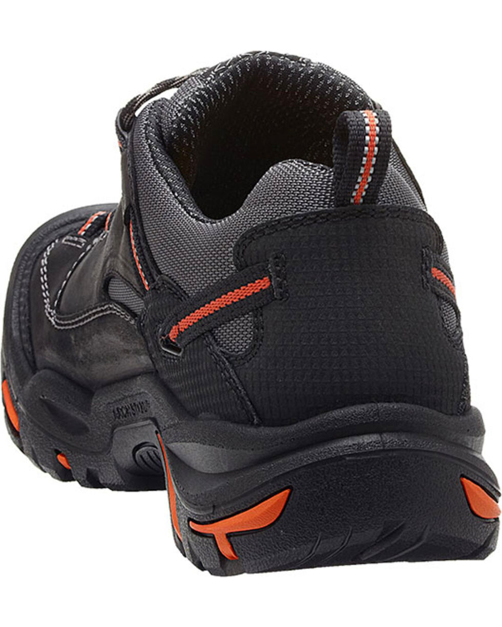 Keen Men's Braddock Low EH Shoes - Steel Toe, Black, hi-res
