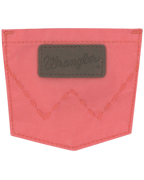 Wrangler Girls' Coral Canvas Skirt, Coral, hi-res