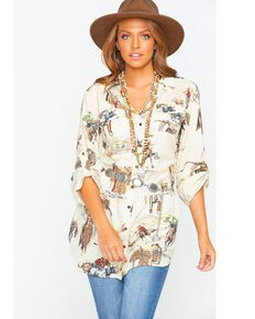 b95bb89e076 Tasha Polizzi Womens Four Corners Tunic , Multi, hi-res