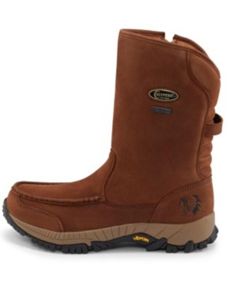 Chippewa Men's Searcher II Western Work Boots - Soft Toe, Brown, hi-res