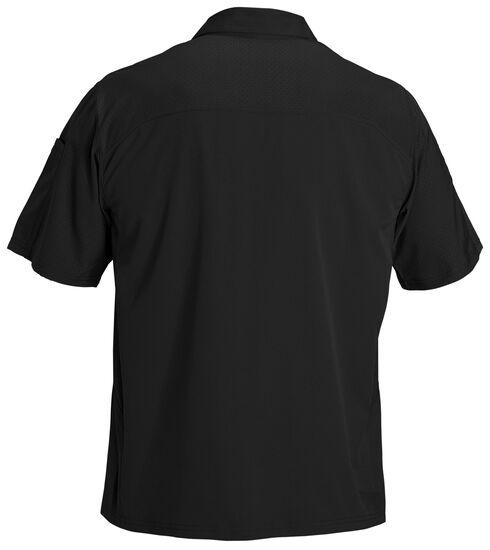 5.11 Tactical Freedom Flex Short Sleeve Woven Shirt, Black, hi-res
