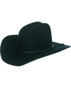 Master Hatters Boys Black Fox 3X Wool Felt Cowboy Hat d1a5b6b5ec05
