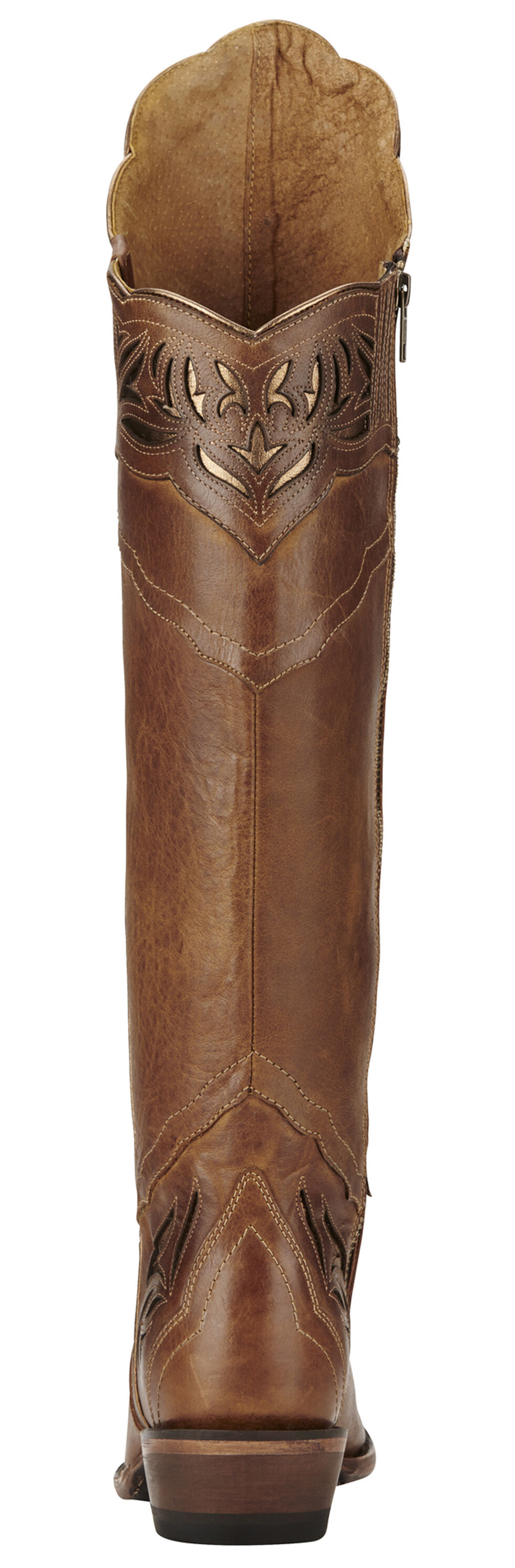 Ariat Chaparral Brilliant Buff Cowgirl Boots - Snip Toe, Brown, hi-res