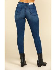 Shyanne Women's Dark Basic Skinny Jeans , Blue, hi-res