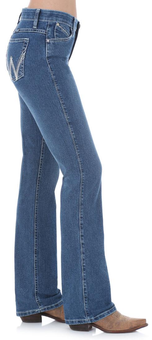 Wrangler Women's QBaby Cool Vantage Medium Wash Jeans, Denim, hi-res