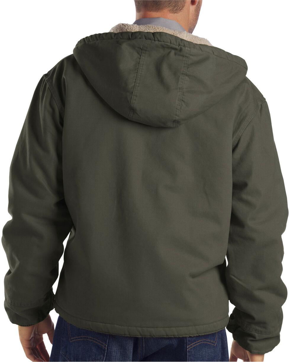 Dickies Hooded Sherpa Lined Work Jacket, Dk Olive, hi-res