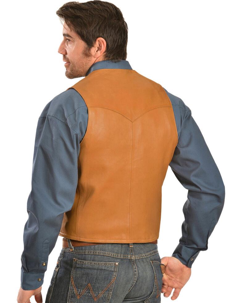 Scully Lamb Leather Vest, Tan, hi-res