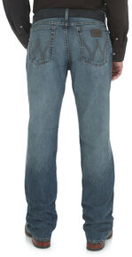 Wrangler Men's 20X Cool Vantage Competition Slim Jeans - Storm Blue, Denim, hi-res