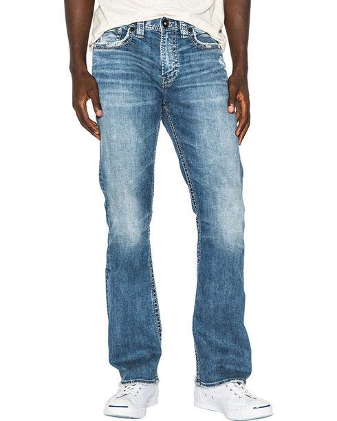 Silver Men's Indigo Craig Easy Fit Jeans - Boot Cut , Indigo, hi-res