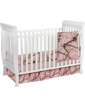 Carstens Pink Realtree AP Camo Crib Set - 3 Piece , Pink, hi-res