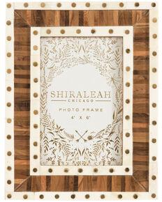Shiraleah Marias Border Picture Frame, Brown, hi-res