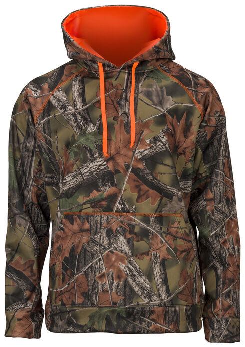 Trail Crest Men's Custom Softshell Hoodie, Camouflage, hi-res