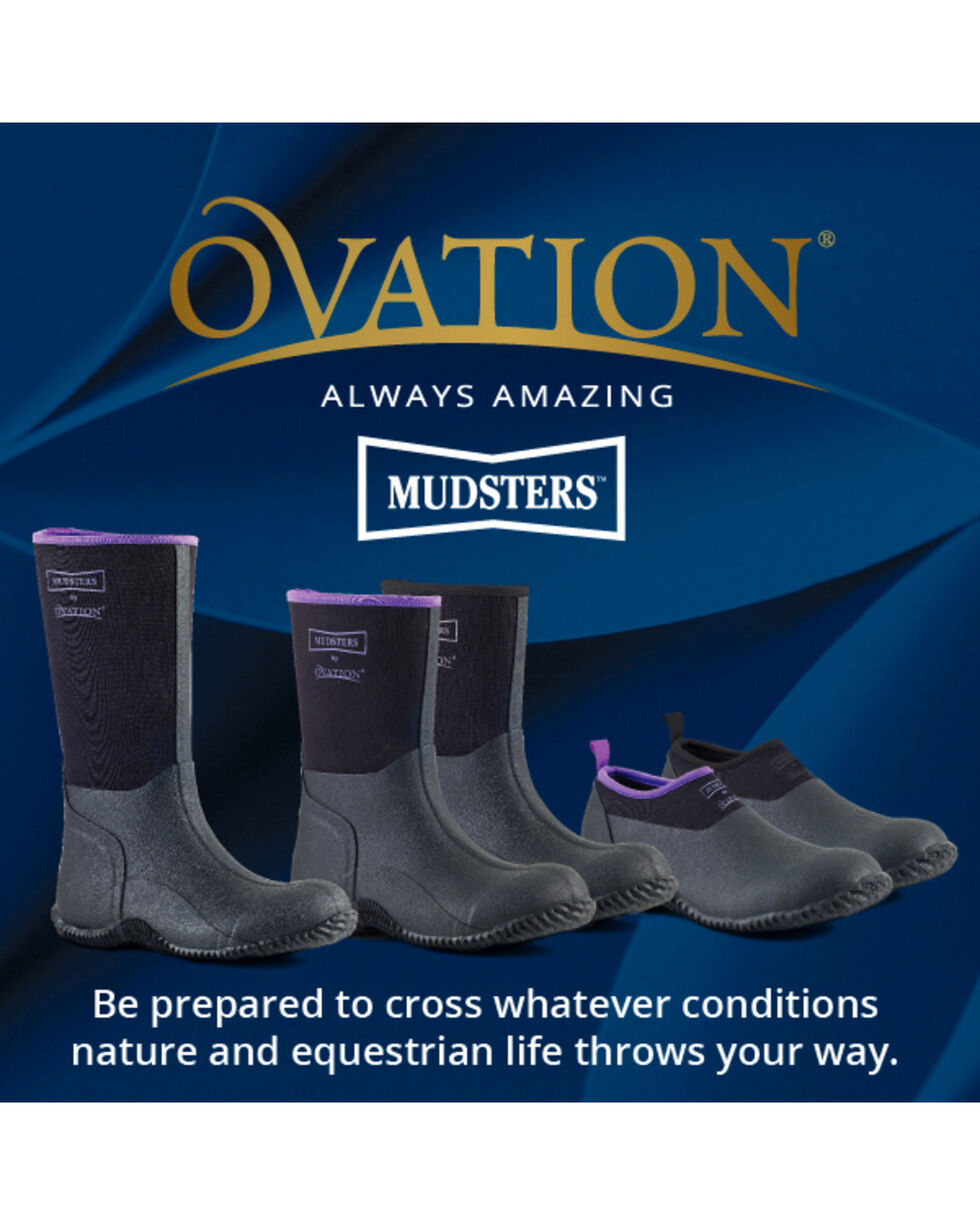 Ovation Women's Mudster Barn Shoes, Black, hi-res