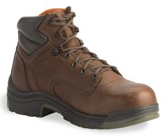 "Timberland Pro Coffee 6"" TiTAN Boots - Soft Toe, Coffee, hi-res"