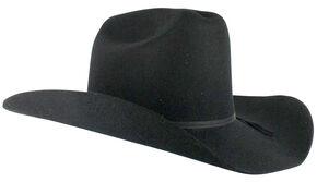 0dba2cb1db5a5 Cody James Mens Denver 2X Felt Cowboy Hat Black