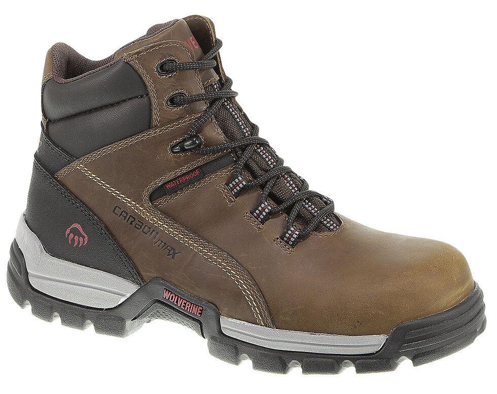"Wolverine Tarmac 6"" Waterproof Reflective Work Boots - Composite Toe, Cinnamon, hi-res"