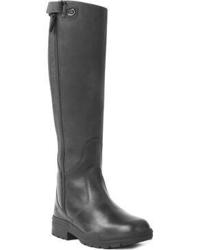 Ovation Women's Moorland Rider Boots, Black, hi-res