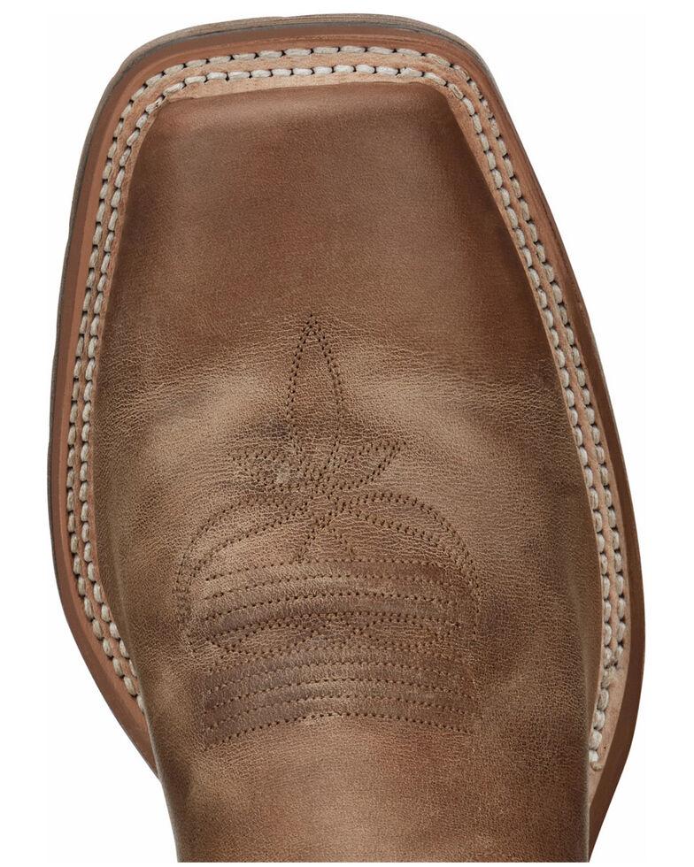 Tony Lama Men's Antonio Tan Western Boots - Wide Square Toe, Tan, hi-res