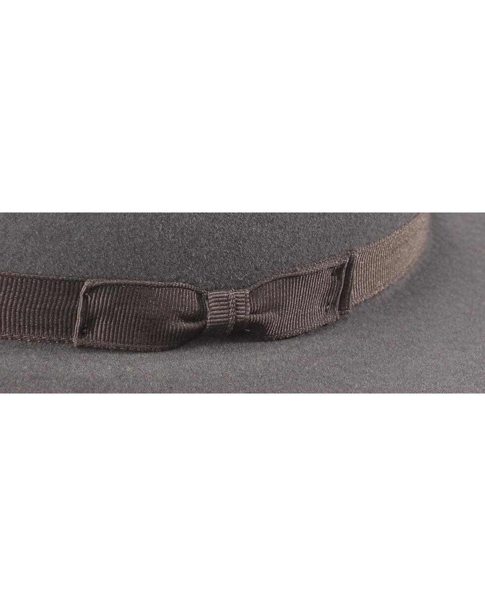 Serratelli Men's Granite 6X Fur Felt Western Hat, Dark Grey, hi-res