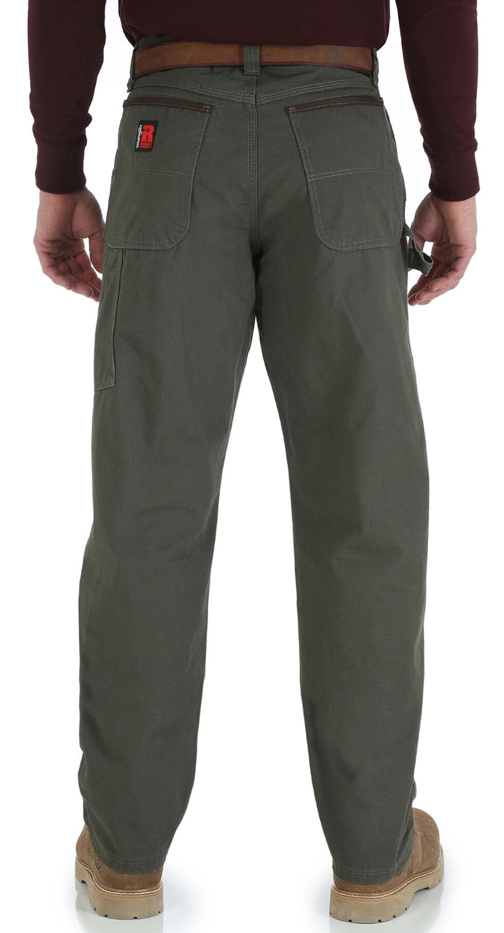 Wrangler Men's Riggs Carpenter Work Pants, Loden, hi-res