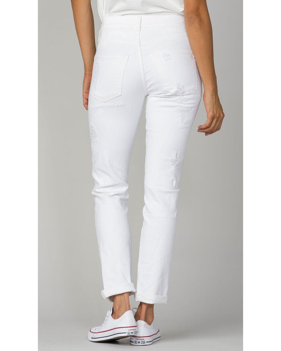 MM Vintage Women's Ava Boyfriend Jeans , White, hi-res