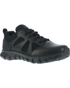 Reebok Men's Sublite Cushion Tactical Oxford Shoes - Soft Toe , Black, hi-res