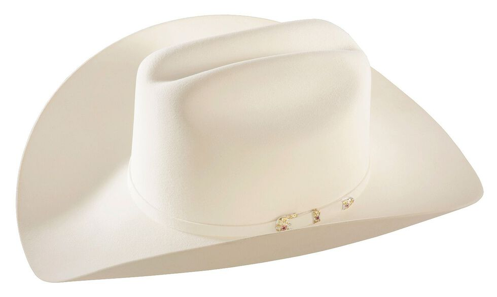43ad59615948e Larry Mahan 30X Magno White Fur Cowboy Hat