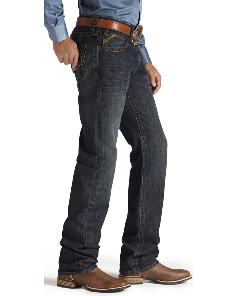 Ariat Denim Jeans - M2 Dusty Road Relaxed Fit - Big & Tall, Denim, hi-res