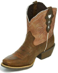 Justin Gypsy Women's Chellie Western Boots - Square Toe, Brown, hi-res