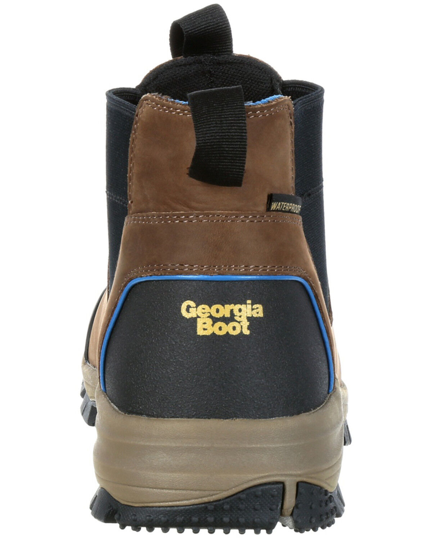 Georgia Boot Men's Blue Collar