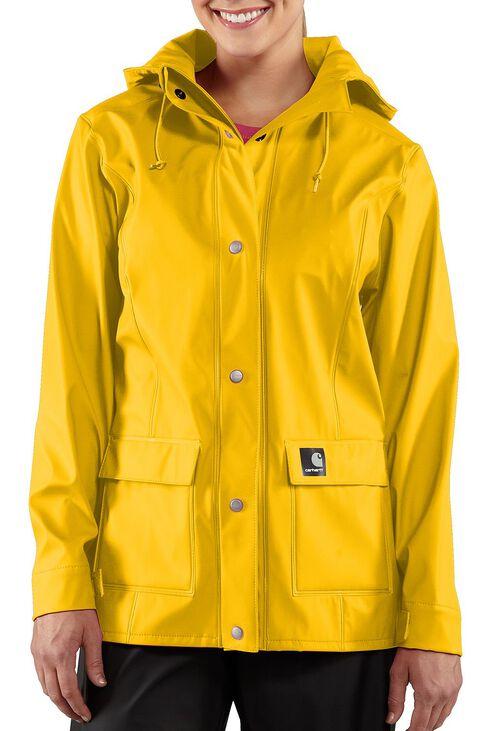 Carhartt Waterproof Medford Jacket, Yellow, hi-res