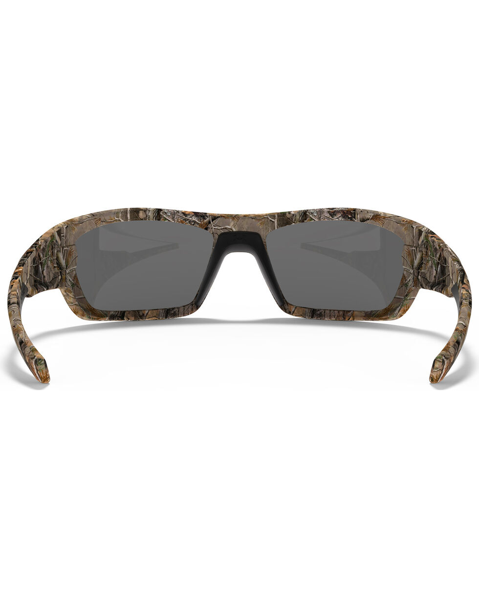 Under Armour Men's Satin Realtree Camo Force Sunglasses, Camouflage, hi-res