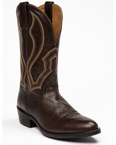 Cody James Men's Chocolate Justified Western Boots - Round Toe, Chocolate, hi-res