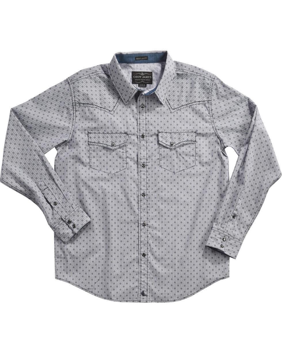 Cody James Men's Compass Printed Long Sleeve Shirt - Tall, , hi-res