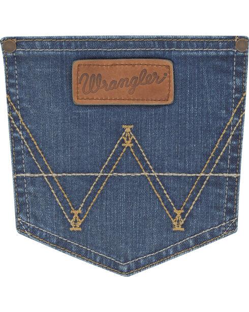 Wrangler Retro Men's Lawton Slim Jeans - Straight Leg, Indigo, hi-res