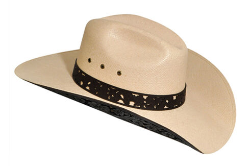 Renegade by Bailey Women's Lacey Straw Cowgirl Hat, Silverbelly, hi-res